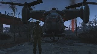 FALLOUT 4: How To Get Your Own Vertibird!