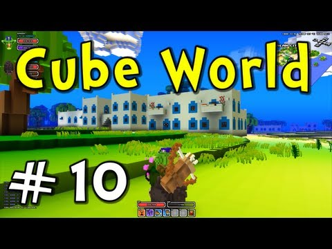 """Cube World E10 """"Tropical Island City!"""" (Action RPG Adventure with Pets!)"""