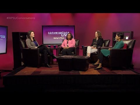 Conversations Live: Aging in Place (April 26, 2018)