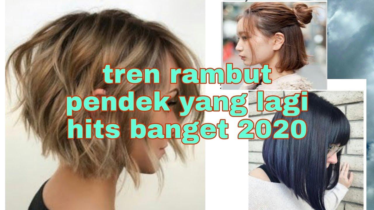 Tren Model Rambut Pendek Wanita Yang Lagi Hits Banget 2020 Youtube