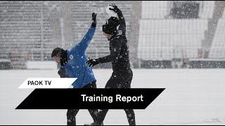 Πρώτα χιονοπόλεμος, μετά δουλειά - PAOK TV