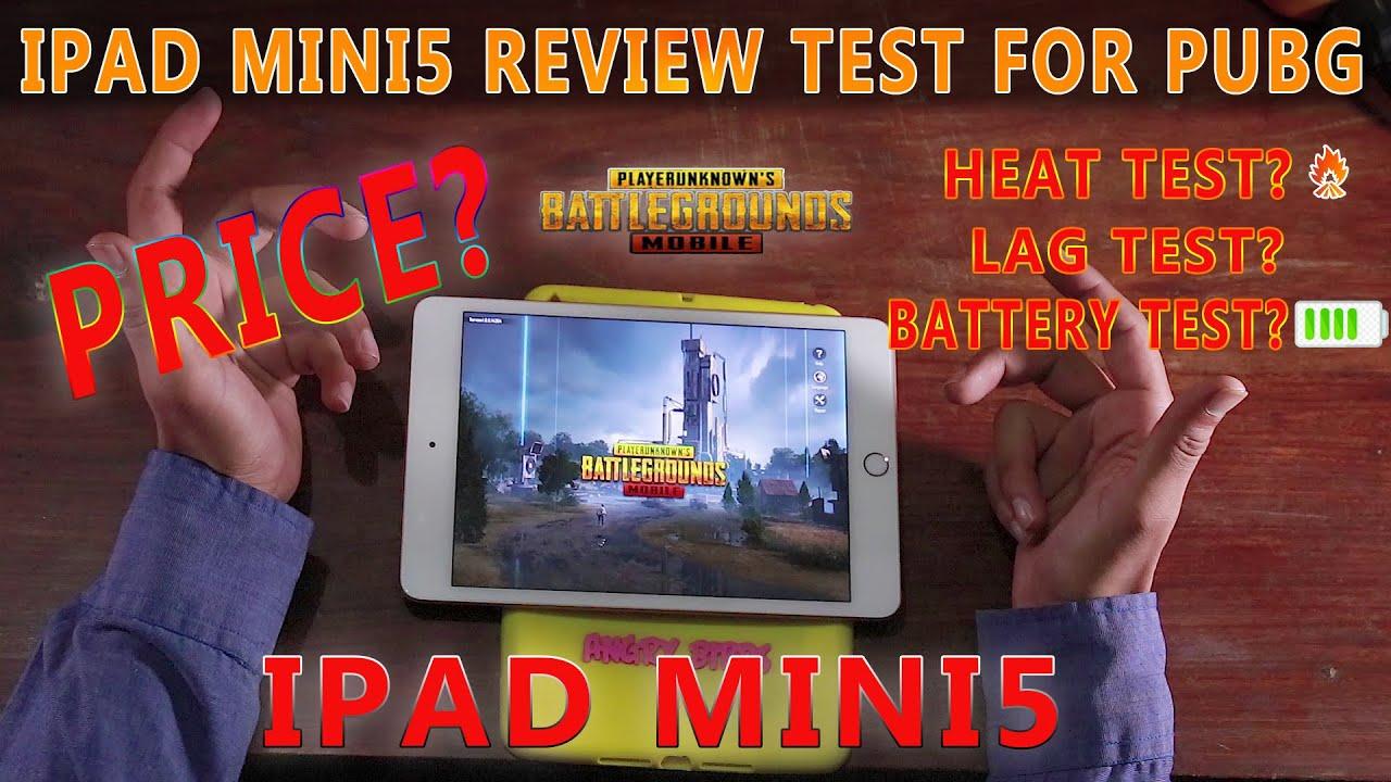 IPAD MINI 5 PUBG TEST || PRICE || LAG TEST || HEAT TEST || IPAD MINI 5 REVIEW PUBG MOBILE