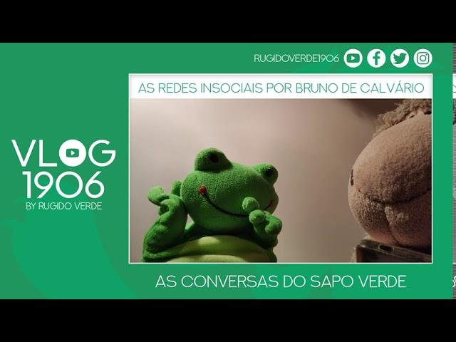 VLOG1906 - As Redes Insociais do Bruno de Calvário