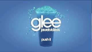 glee cast push it karaoke version
