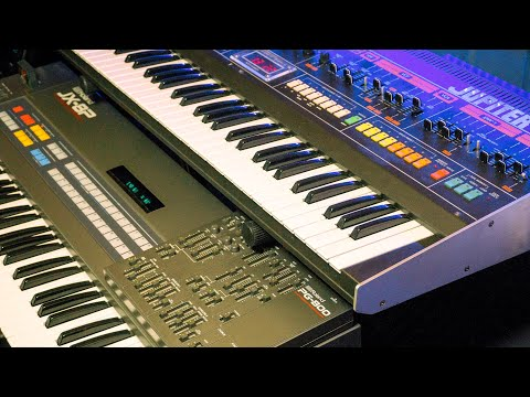 Roland JX-8P or Jupiter-8? And why? | Studio time (faux live stream)