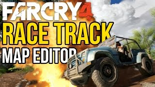 RACETRACK!/Fastest Car in Far Cry 4 - Map Editor [PC]