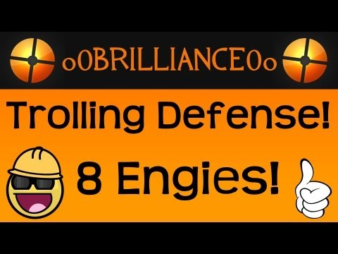 TF2 Trolling Defense: 8 Engineers