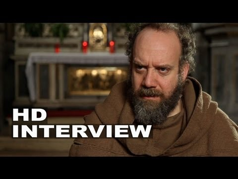 """Romeo and Juliet: Paul Giamatti """"Friar Laurence"""" On Set Movie Interview"""