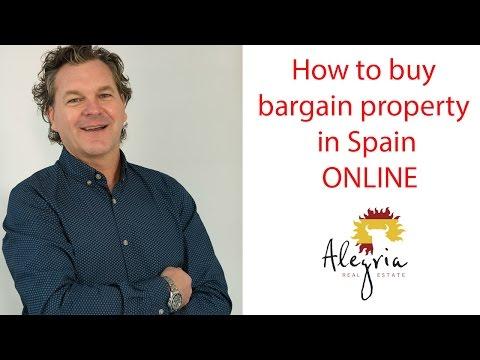 How to buy bargain property in Spain online