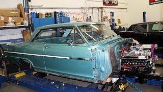 1963 Chevrolet Nova V8 Sleeper Build Project