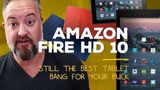 Amazon Fire HD 10 (2017): Alexa goes BIG