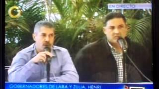 Pablo Pérez y Henry Falcón en Defensa del Gobernador de Monagas