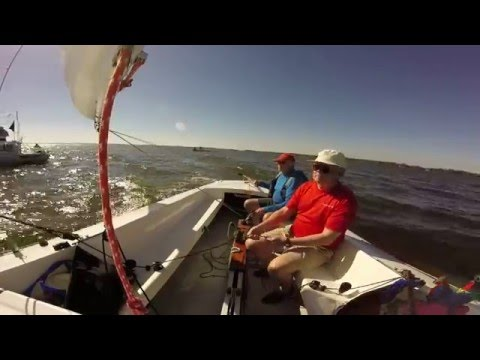 Lake Eustis Sailing Club Flying Scott Regatta  2/14/2016