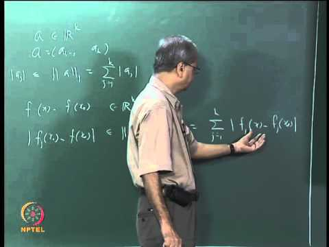 Mod-05 Lec-24 Continuous Functions on a Metric Space
