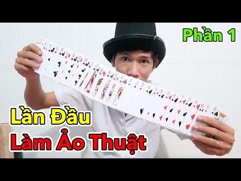 Lâm Vlog - Lần Đầu Làm Ảo Thuật Gia   Giải Mã Các Trò Ảo Thuật Đơn Giản - Phần 1