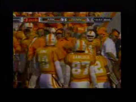2007 - Tennessee 34 Arkansas 13 (Video 1)