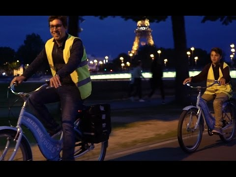 Paris Evening Bike + Boat Tour - Blue Fox Travel