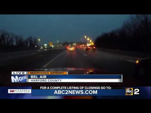 winter storm in the northeast affects the roads