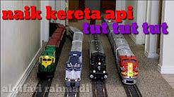 Lagu naik kereta api tut tut tut. Lagu anak populer