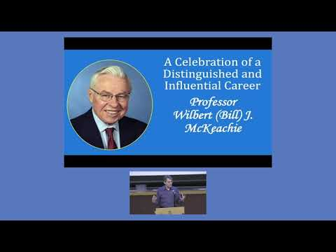 Wilbert (Bill) J. McKeachie Symposium