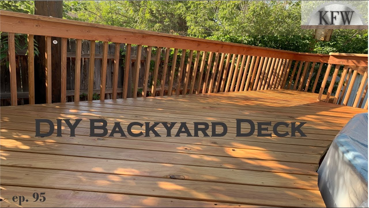 95 How To Build A Backyard Deck Around An Above Ground Pool Diy Home Improvement Youtube
