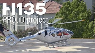 PROuD project: H135 to improve safety for EMS operations in Norway