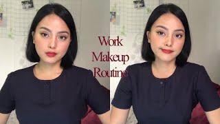 WORK MAKEUP ROUTINE | Khate Garcia