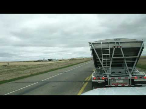 Drivin' From Morrin, AB to Red Deer, AB