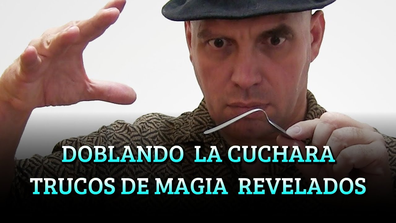 Doblando La Cuchara Trucos De Magia Revelados Youtube