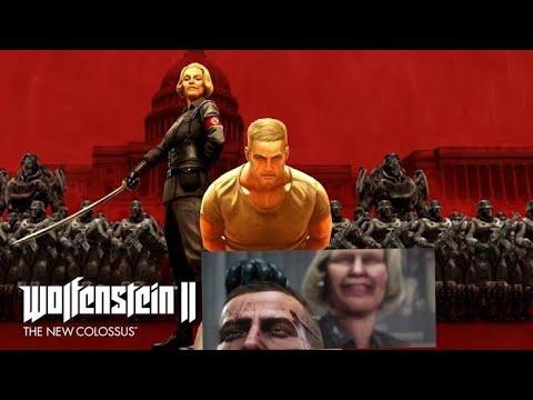Unbelievable Head Transplant Scene - Wolfenstein II: The New Colossus - Game |
