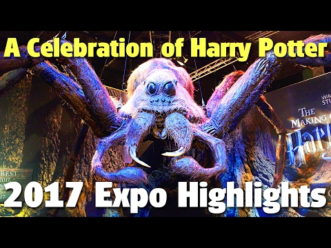 Expo Highlights | A Celebration of Harry Potter 2017