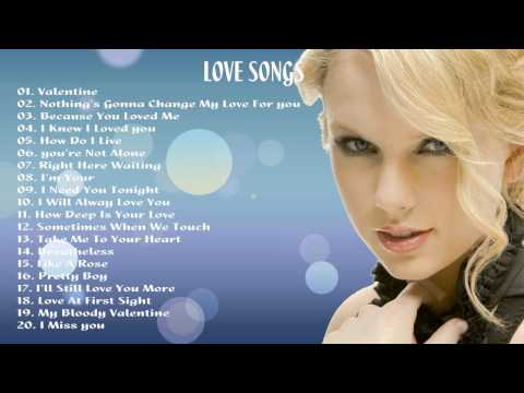 Romantic Love songs ♥ Top Greatest Romantic Love Songs Of All Time New 2015