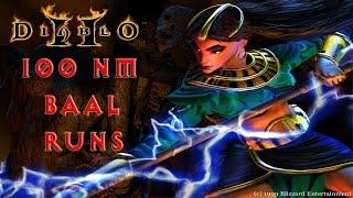 Diablo 2: 100 Nightmare Baal Runs - Magic Find Results