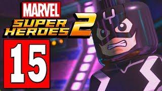 LEGO Marvel Super Heroes 2 Walkthrough Part 15 ATTILAN THRONE OF BLACK BOLT . MAXIMUS BOSS