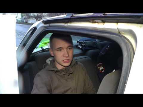 Пьяный водитель 'Приоры'