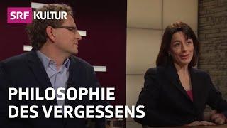 Erinnern Und Vergessen Christine Abbt Und Mats Staub Sternstunde Philosophie 26 1 14