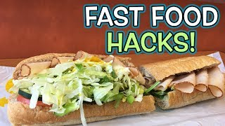 TOP 10 Fast Food HACKS YOU NEED TO KNOW!