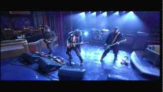 Soundgarden - Been Away Too Long - Letterman 2012