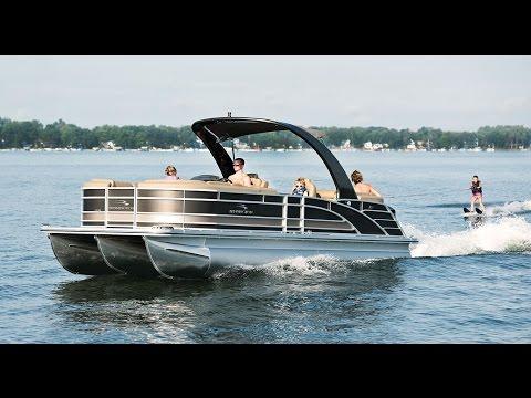 Pontoon Boat Reviews: Bennington 2550RSRA Luxury Pontoon Boats