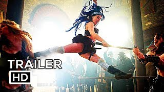 BABES WITH BLADES Official Trailer (2018) Fantasy Action Movie HD