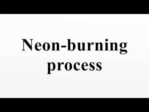 Neon-burning process