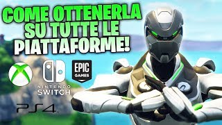 "HOW TO GET THE EXCLUSIVE SKIN ""EON"" OF XBOX ON ALL PLATFORMS! - GUIDE FORTNITE"
