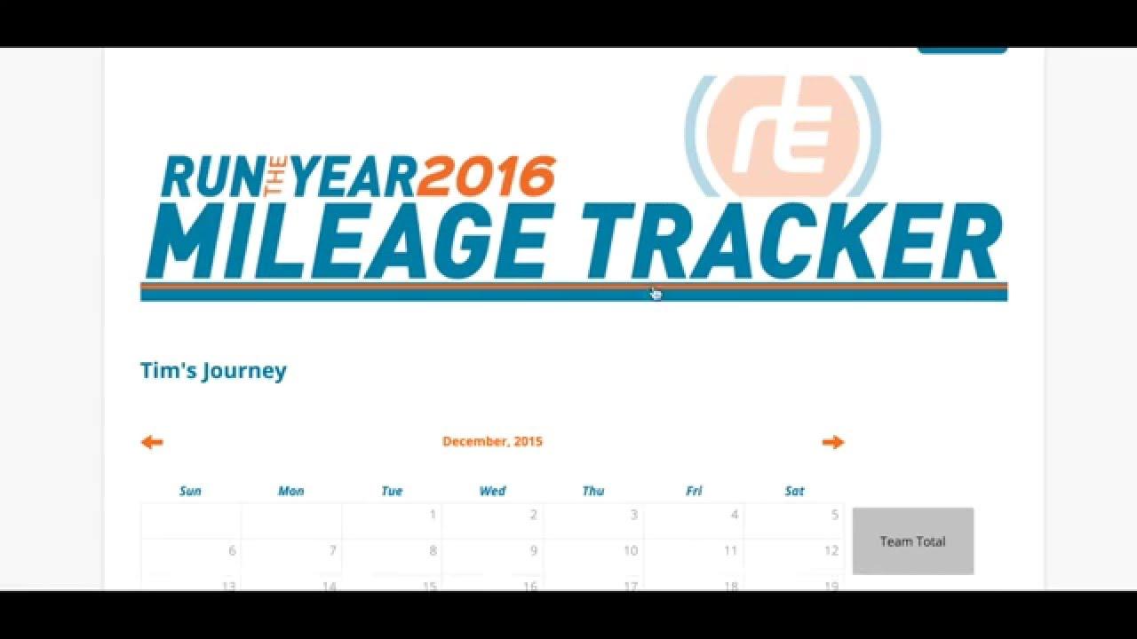 mileage tracker tutorial youtube