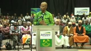 Kutokomeza rushwa ni jambo la kufa na kupona - January Makamba