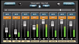 "MultiTracks App Feature - Bora York ""Ghost Lights"""