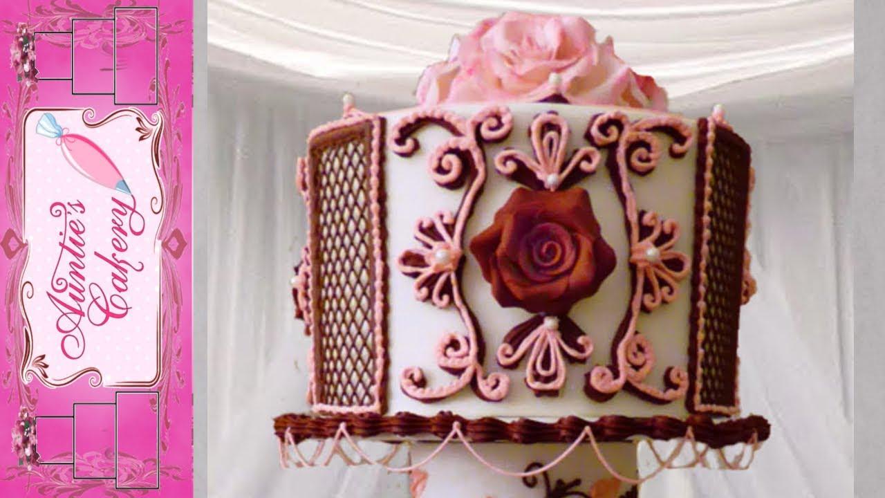 Maroon Marvel Top Tier Display Wedding Cake Youtube