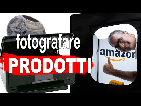 Come Fare Foto ai Prodotti per eCommerce o Amazon FBA Italia
