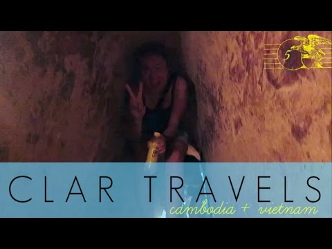 CLAR TRAVELS: Tunnel Running!! April 25, '15 - clar831 Vlog
