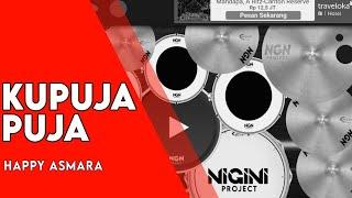 Kupuja Puja Happy Asmara Real Drum Cover By Nigini Project