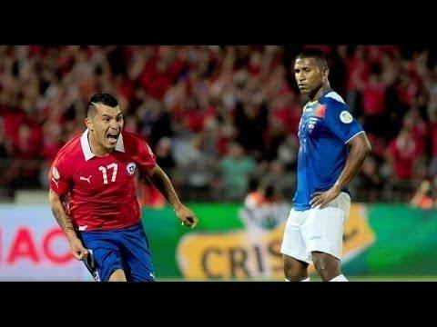 Chile vs Ecuador 2-1 Partido completo (BeIN Sport) 15/10/2013